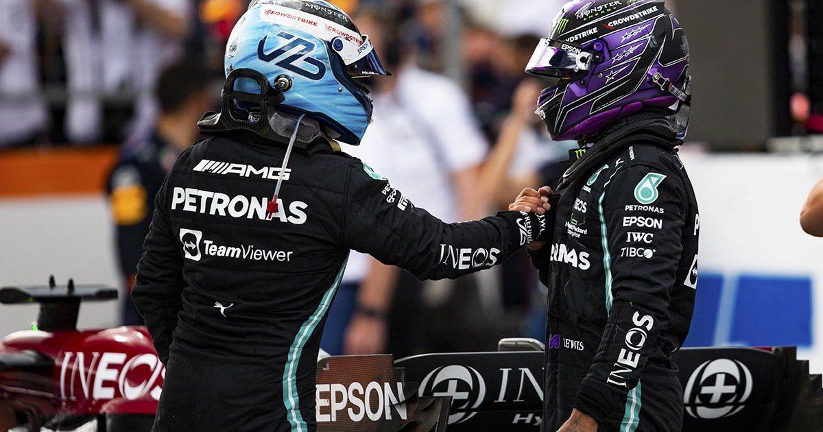 Valtteri Bottas Lewis Hamilton Mercedes