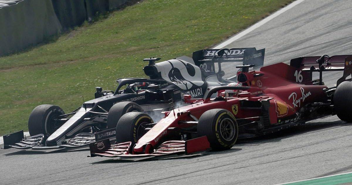 Yuki Tsunoda, AlphaTauri, Charles Leclerc, Ferrari