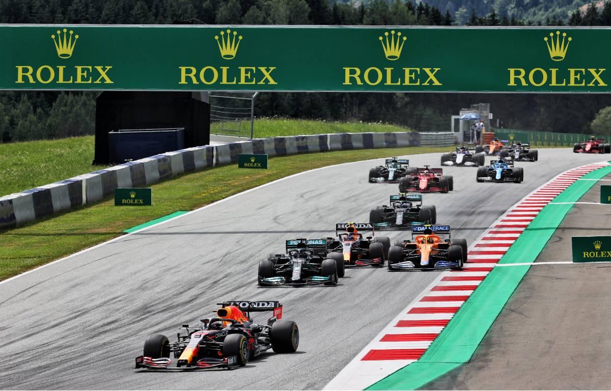 2021 Styrian Grand Prix start