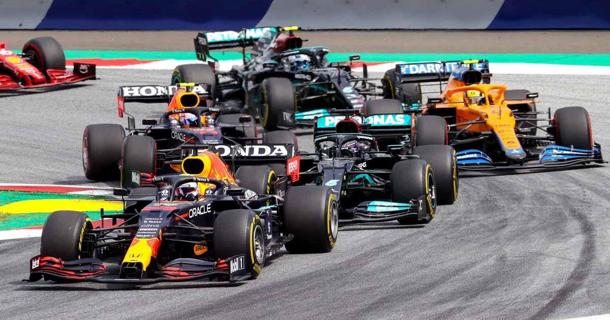Styrian Grand Prix race start