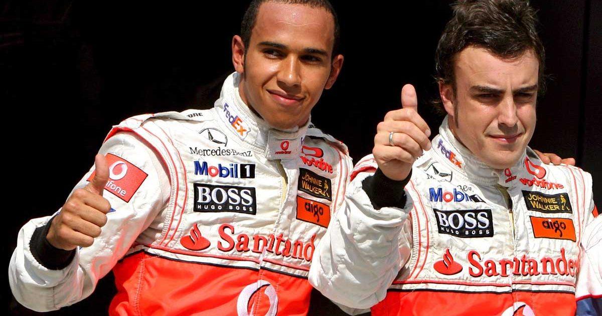 Fernando Alonso Lewis Hamilton