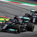 Lewis Hamilton and Valtteri Bottas, Mercedes