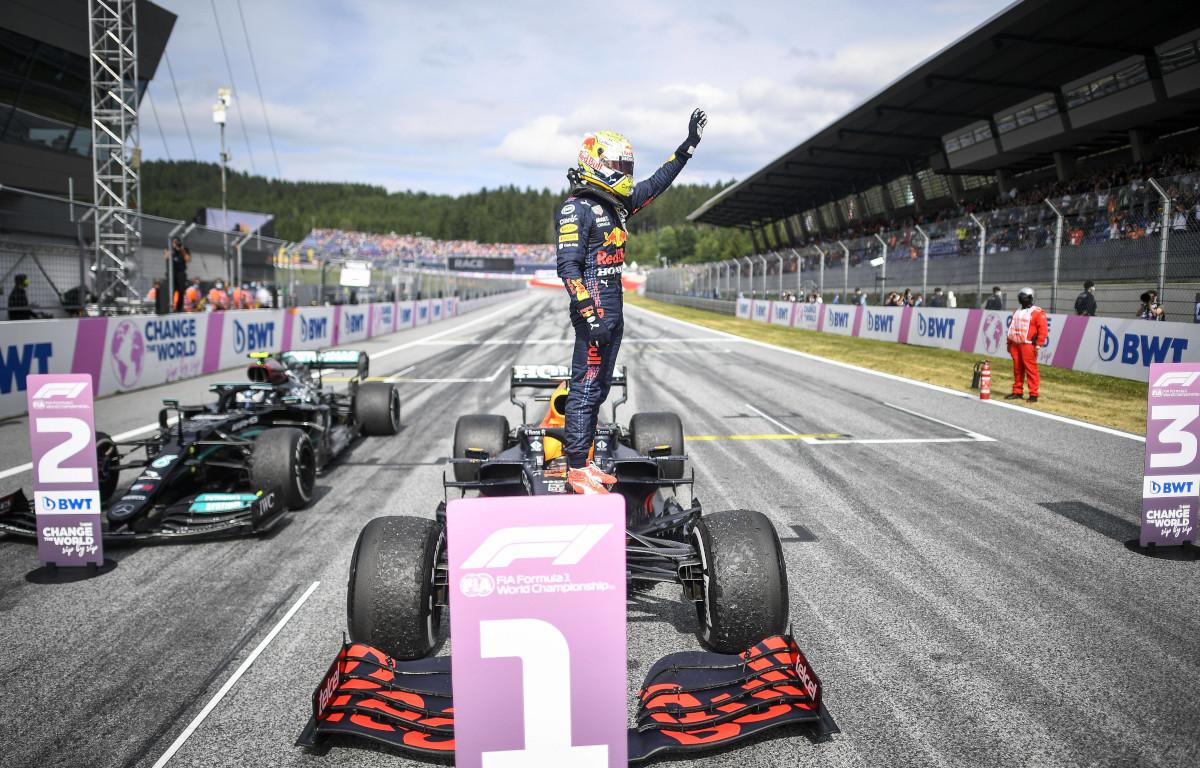 Max Verstappen Austrian win