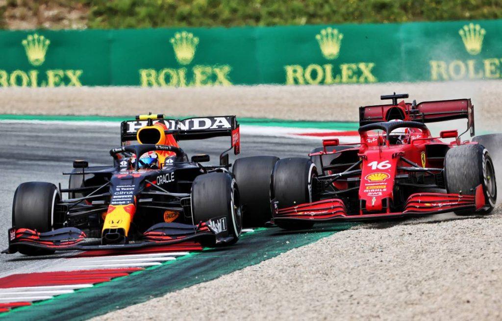 Sergio Perez, Red Bull, Charles Leclerc, Ferrari