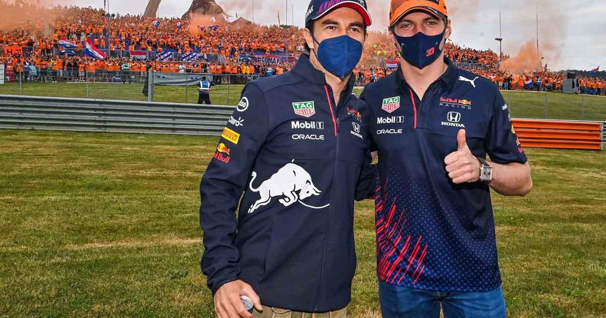 Sergio Perez and Max Verstappen, Red Bull