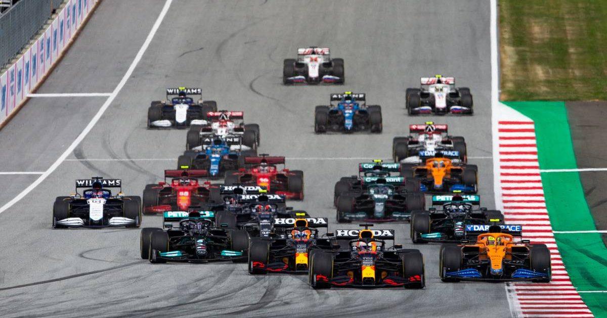 2021 Austrian Grand Prix start