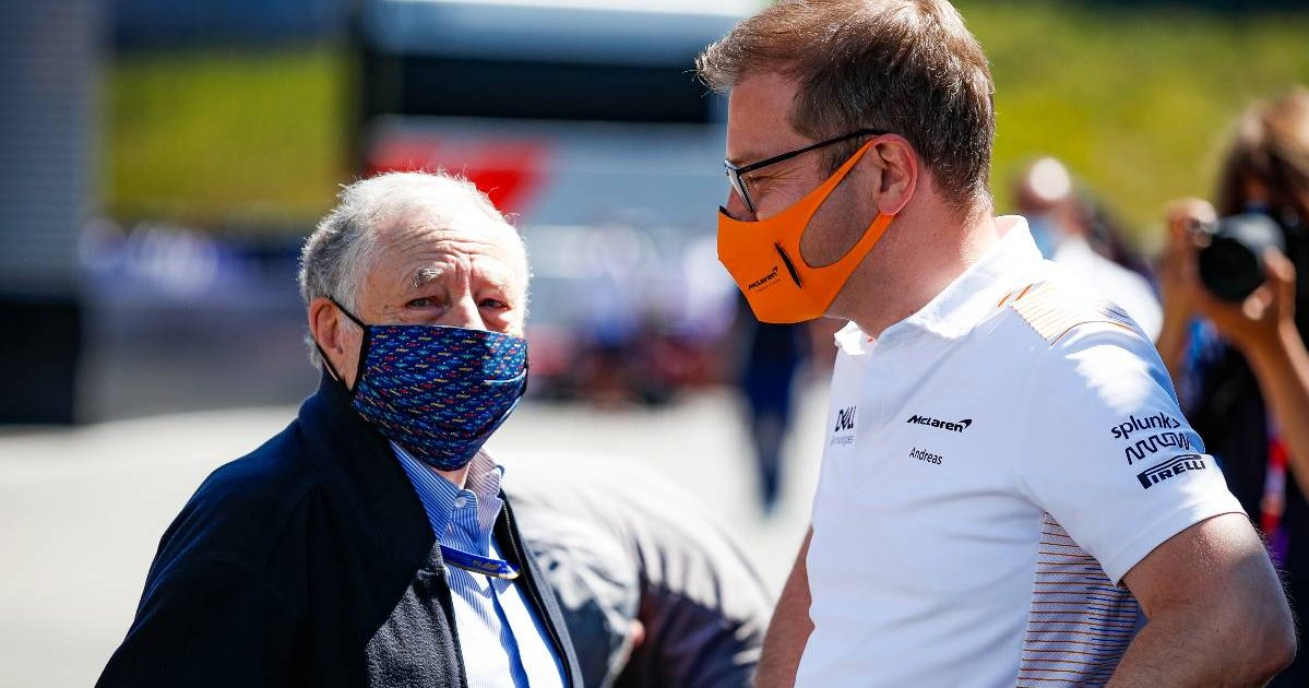 Jean Todt Andreas Seidl