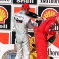 Mika Hakkinen Michael Schumacher