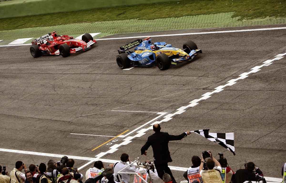 Fernando Alonso Michael Schumacher