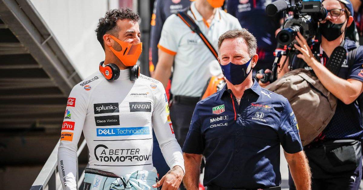 Daniel Ricciardo Christian Horner