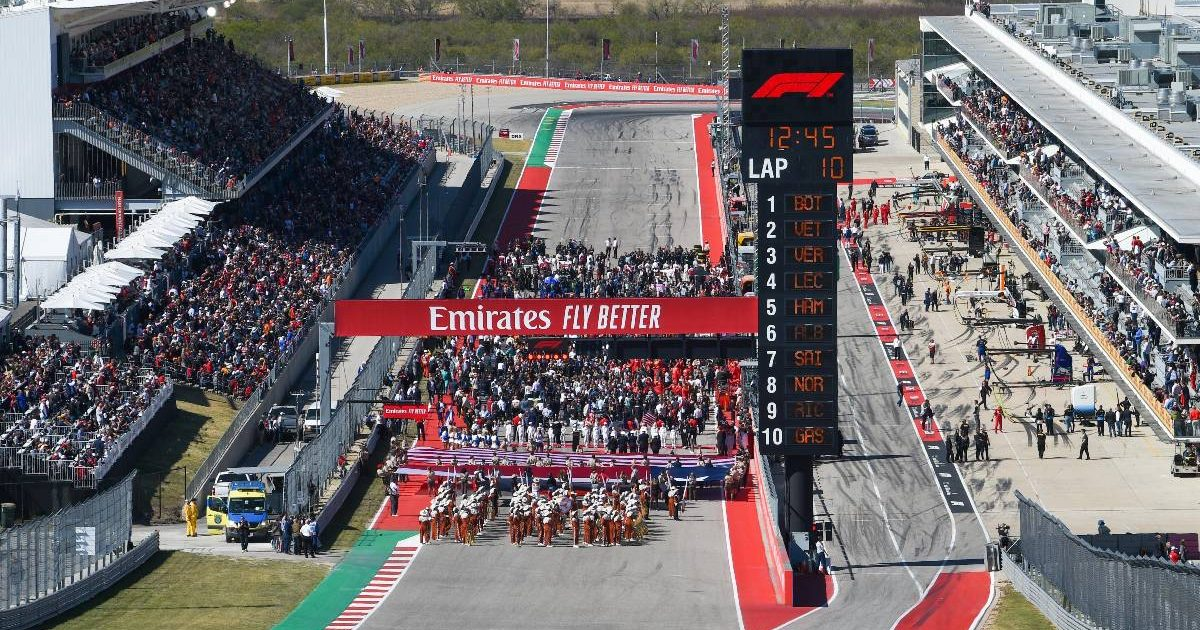 United States Grand Prix grid, Circuit of the Americas
