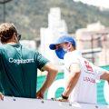 Sebastian Vettel and Mick Schumacher