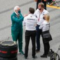 Lawrence Stroll, Toto Wolff, Sir Jim Ratcliffe