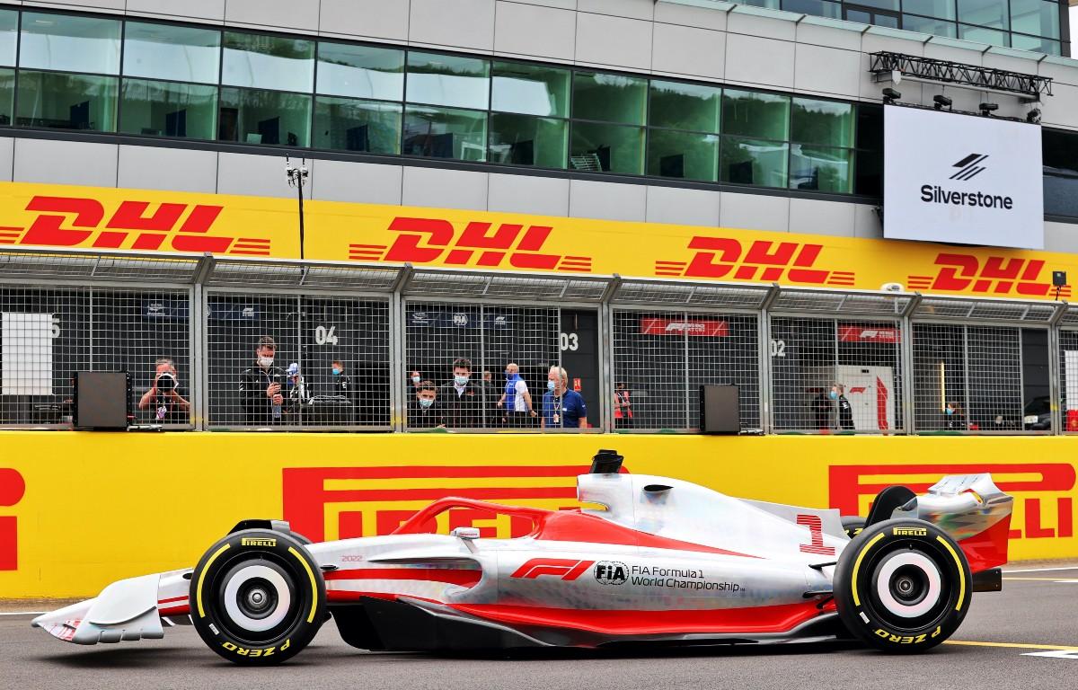 Formula 1 2022 car Silverstone