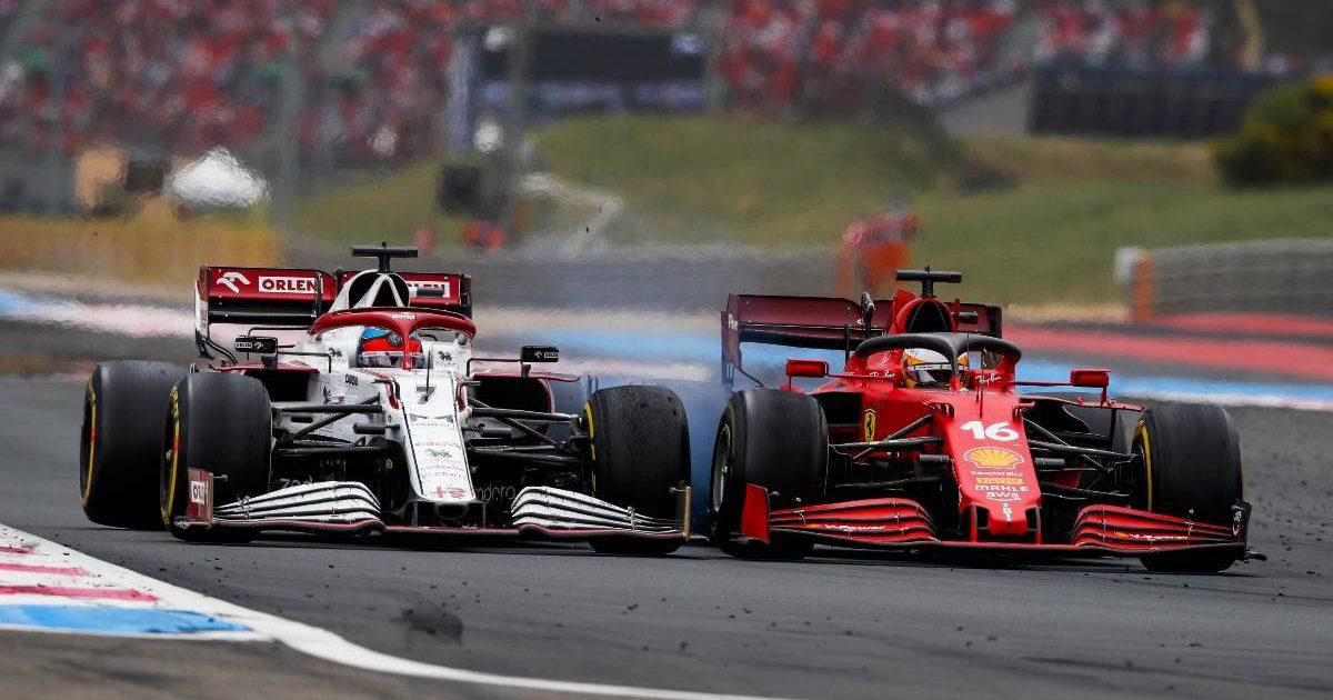 Kimi Raikkonen, Alfa Romeo, Charles Leclerc, Ferrari