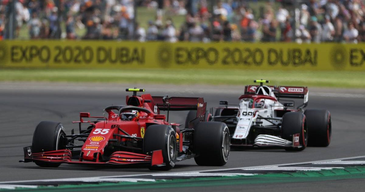 Carlos Sainz, Ferrari, Antonio Giovinazzi, Alfa Romeo