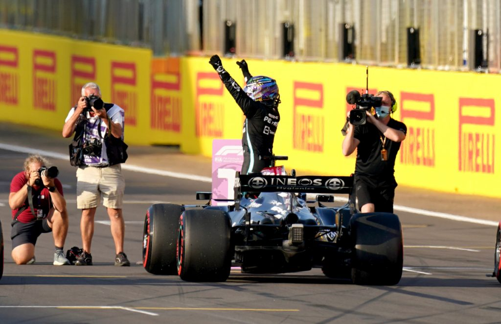 Lewis Hamilton British GP qualifying