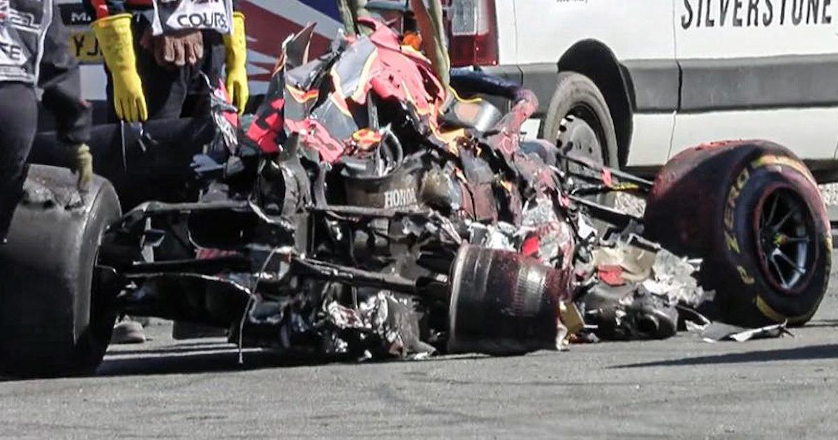 Red Bull tiene problemas con su motor dañado en Silverstone