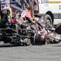 Lewis Hamilton Max Verstappen crash