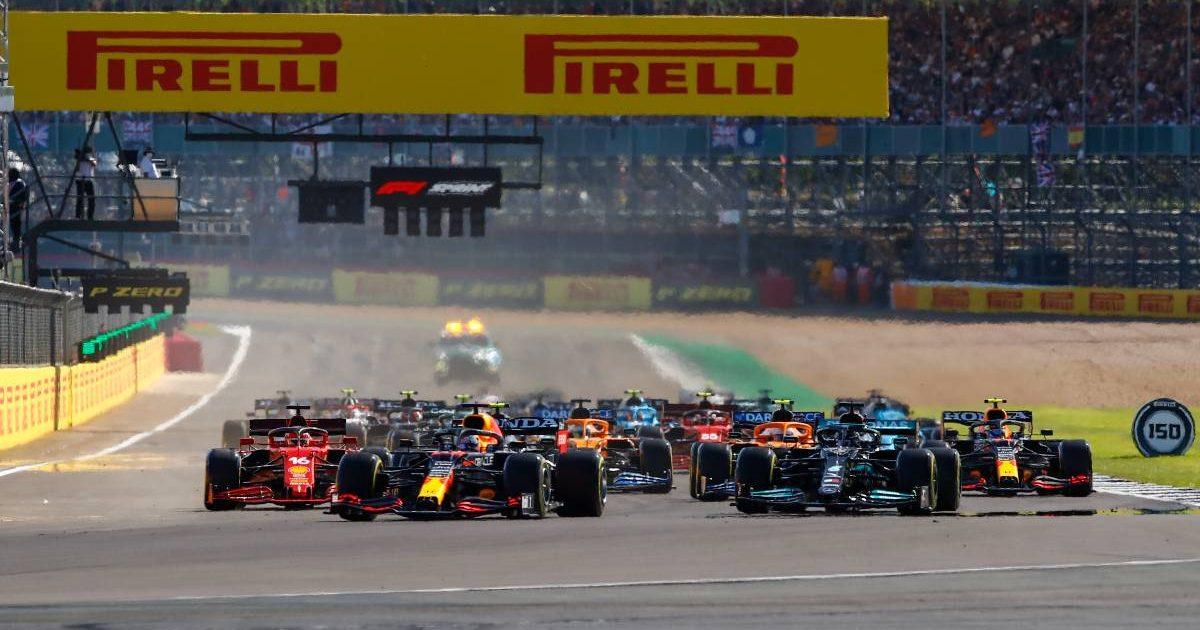 British Grand Prix sprint qualifying start