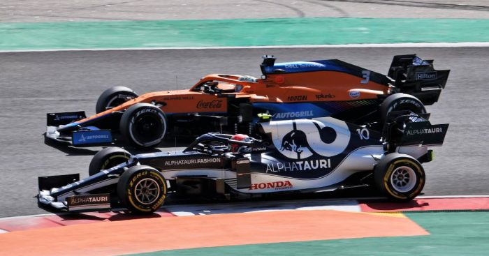 Pierre Gasly, AlphaTauri, Daniel Ricciardo, McLaren