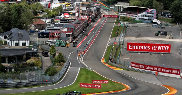 Spa-Francorchamps, home of the Belgian Grand Prix
