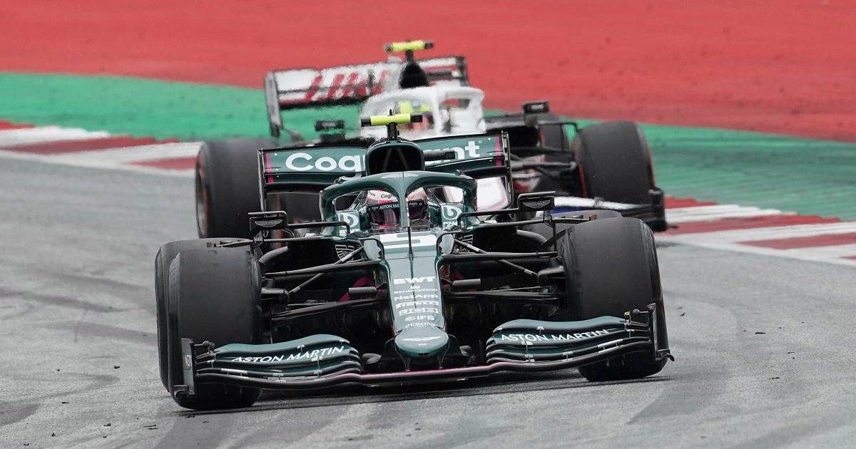 Sebastian Vettel Mick Schumacher PA