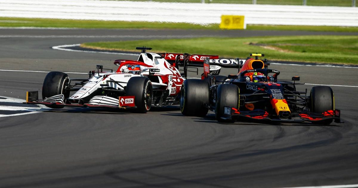 Kimi Raikkonen Sergio Perez