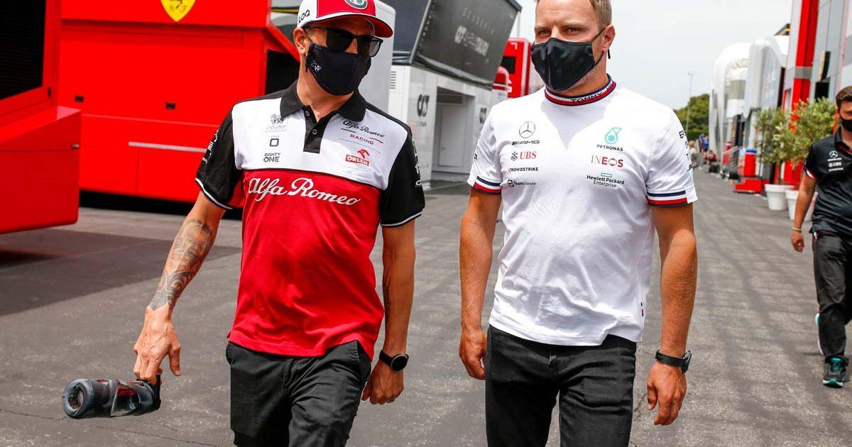 Kimi Raikkonen and Valtteri Bottas
