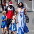 Kimi Raikkonen and family