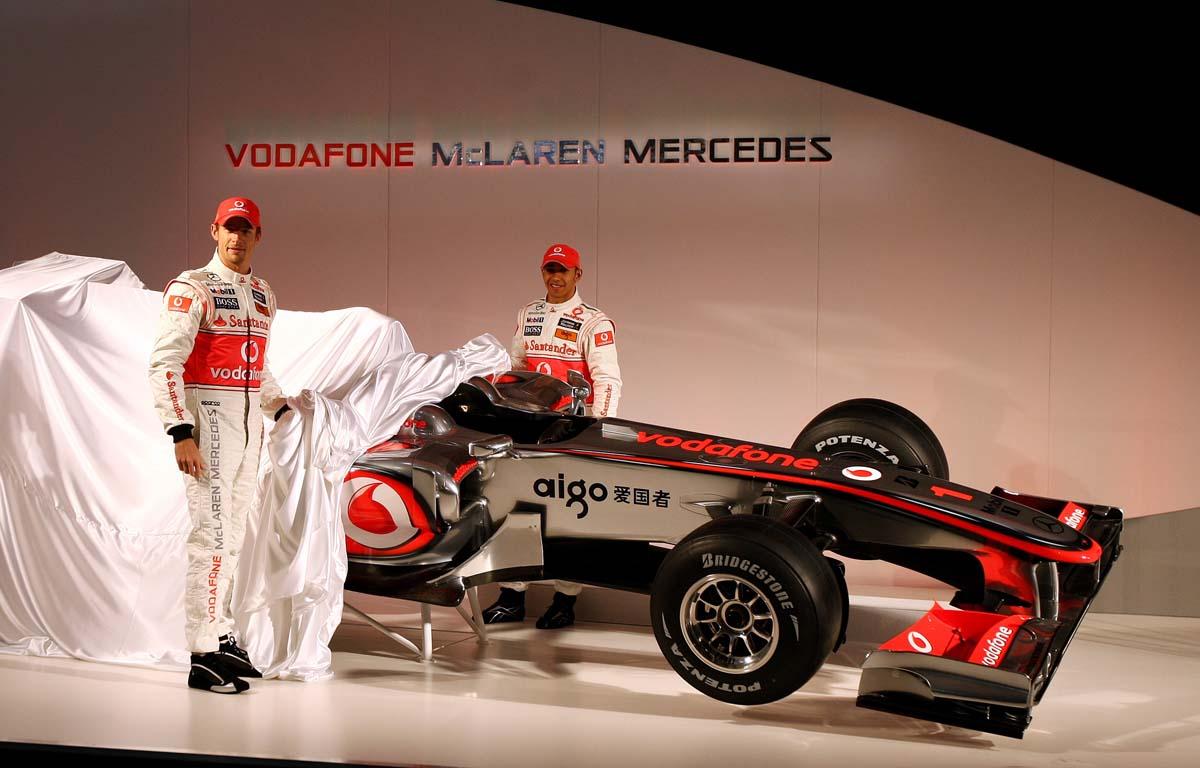 Lewis Hamilton Jenson Button PA
