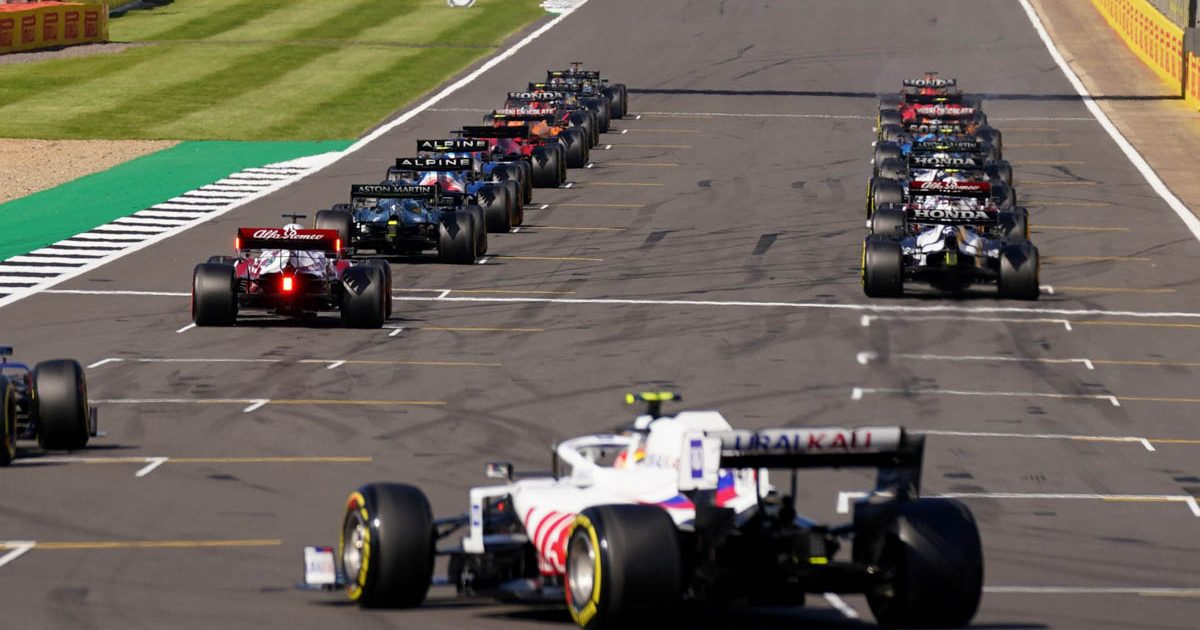 Sprint qualifying, Silverstone, July 2021.