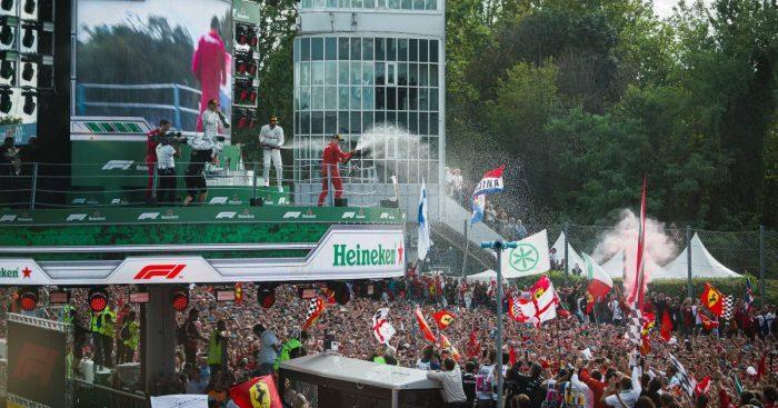 2019 Italian Grand Prix podium