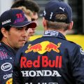 Sergio Perez Max Verstappen