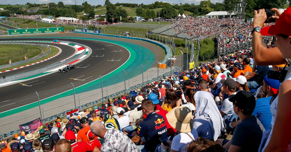 Lewis Hamilton Hungary crowd