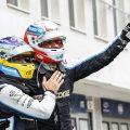 Esteban Ocon and Fernando Alonso