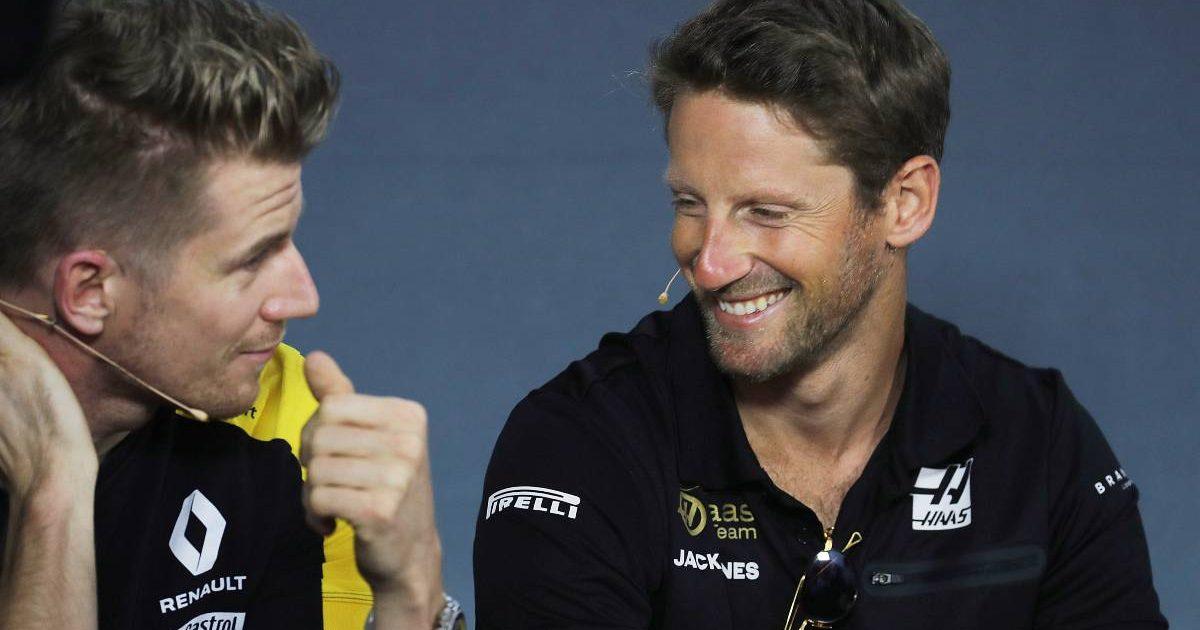 Nico Hulkenberg Romain Grosjean