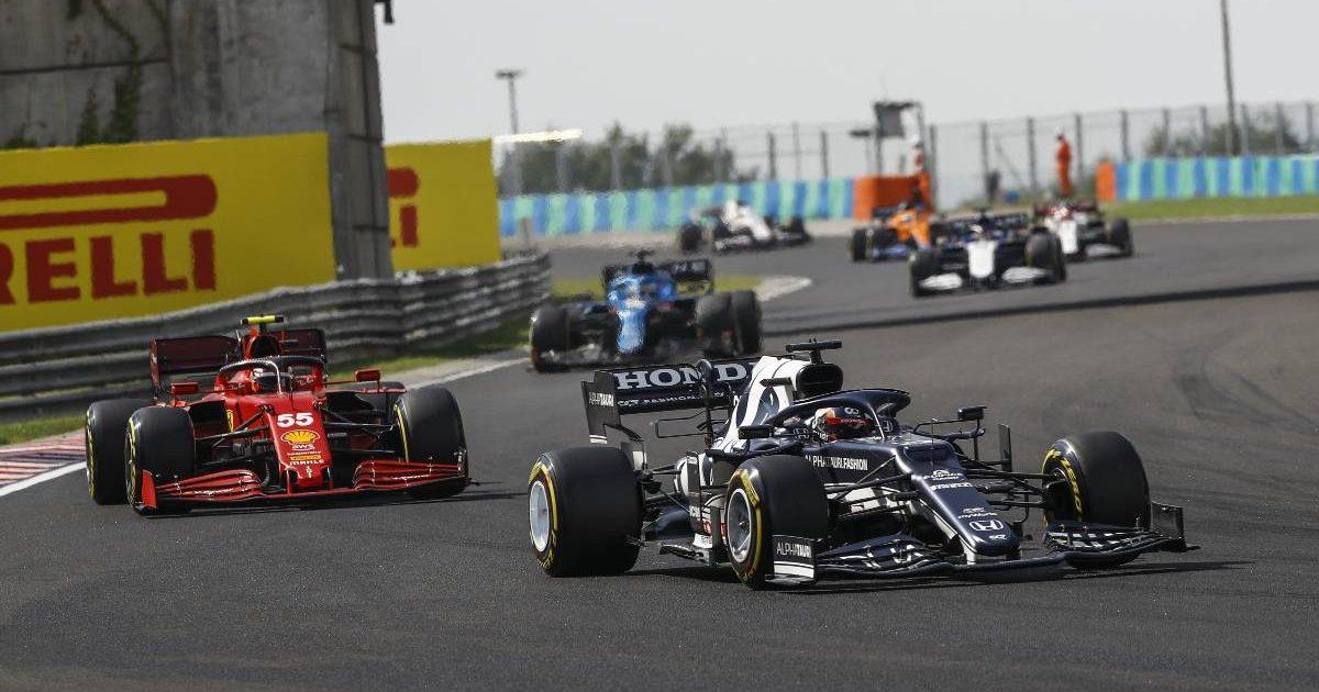 Yuki Tsunoda. AlphaTauri, during the 2021 Hungarian Grand Prix