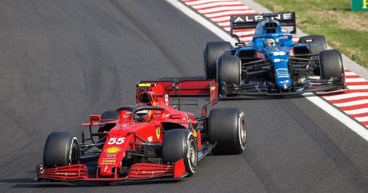 Carlos Sainz, Ferrari, Fernando Alonso, Alpine