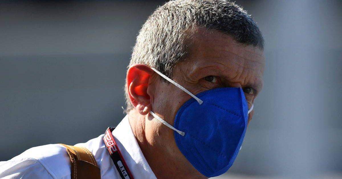 Haas team principal Guenther Steiner. Austria 2021.