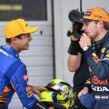Lando Norris and Max Verstappen Austrian GP qualifying. Red Bull Ring July 2021.