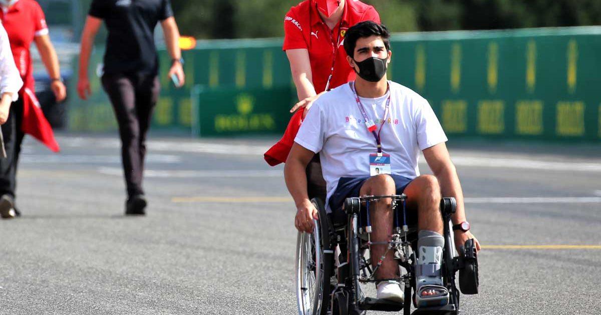 Juan Manuel Correa, Spa-Francorchamps, August 2020.
