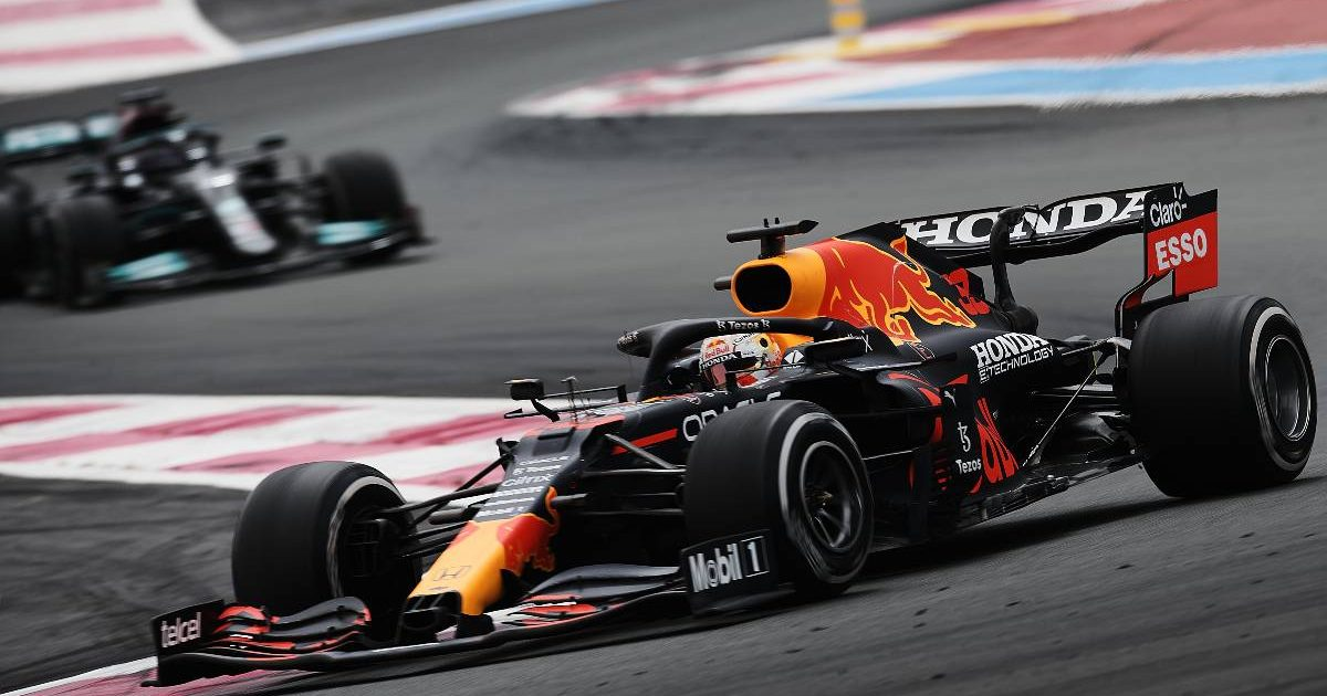 Max Verstappen (Red Bul) during the French Grand Prix. Paul Ricard June 2021.