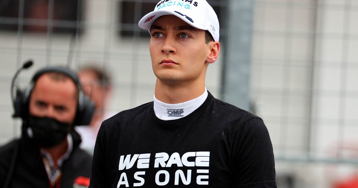 George Russell, Hungarian Grand Prix, Williams, August 2021.