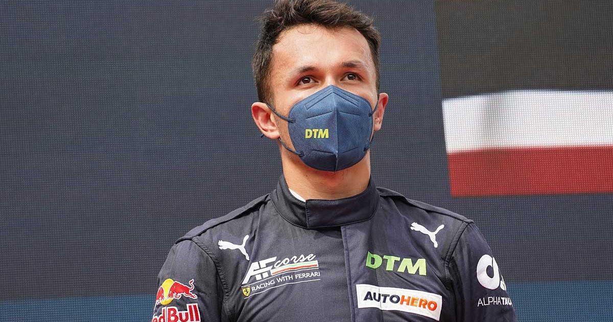 Alexander Albon, Red Bull, DTM, August 2021.