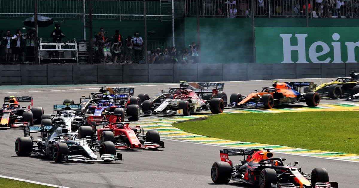 Brazilian GP start, November 2019, sprint qualifying venue 2021