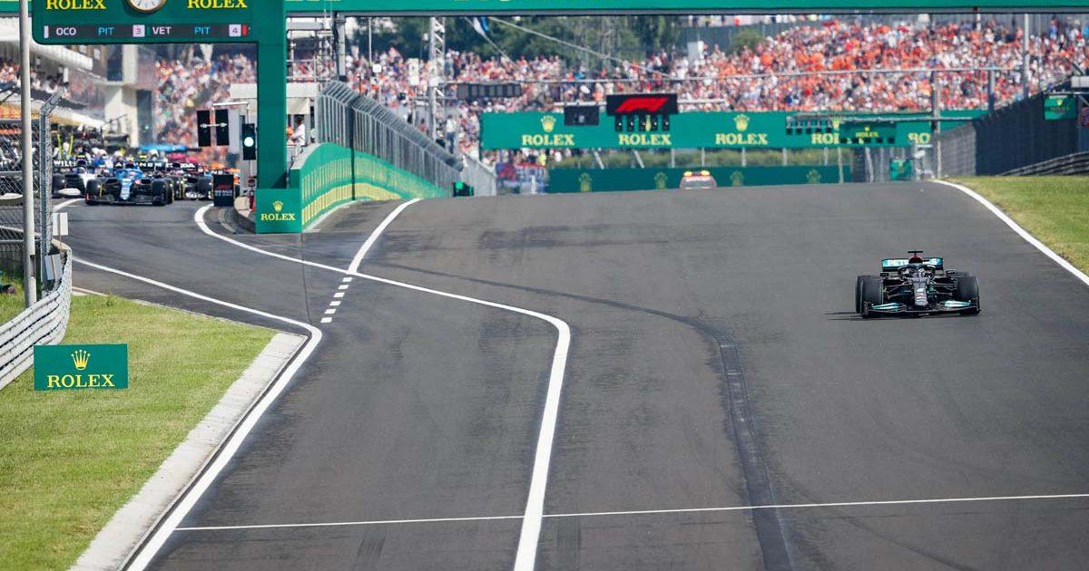 Hungarian Grand Prix, Hungaroring, August 2021.