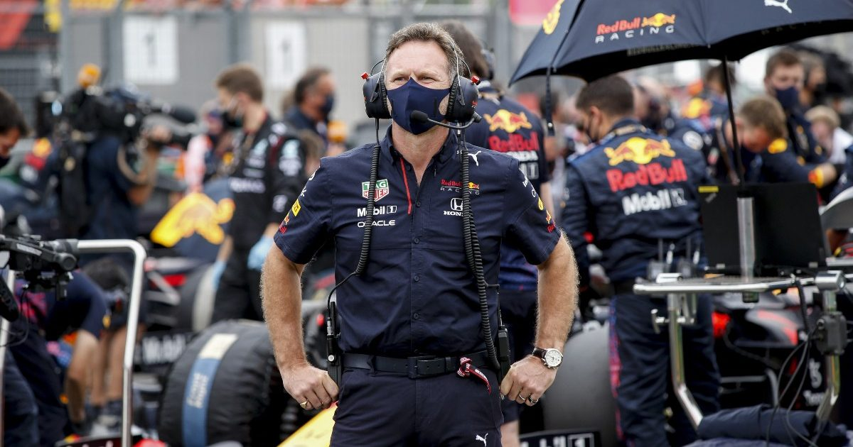 Christian Horner at the Hungarian Grand Prix. Hungary August 2021