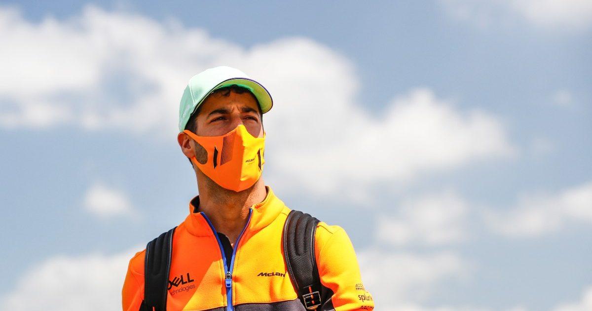 Daniel Ricciardo at the British Grand Prix. Great Britain July 2021