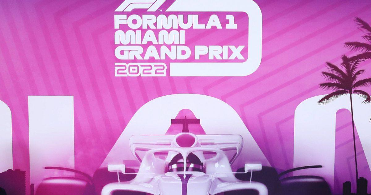 Formula 1 Miami Grand Prix logo. May 2021